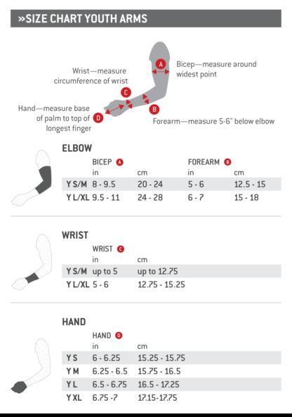 G-Form kokotaulukko kädet Jr